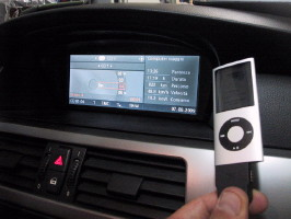 interfaccia usb ipod iphone per bmw e60,90,70