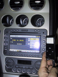 interfaccia ipod alfa 159 connect