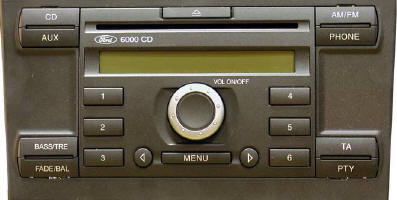 interfaccia ipod per ford 6000 cd
