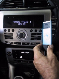 interfaccia ipod iphone lancia delta