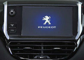 interfaccia video peugeot 208
